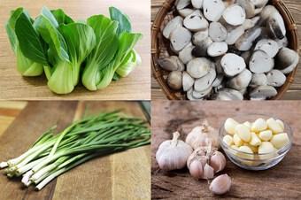Cách làm cải thìa sốt nấm thanh đạm, đơn giản, ăn là ghiền