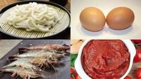 Cách làm mì udon xào trứng cà chua đơn giản cho bữa ăn thêm ngon