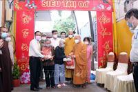 TP Hồ Chí Minh tiếp nhận thiết bị y tế do Giáo hội Phật giáo Việt Nam trao tặng