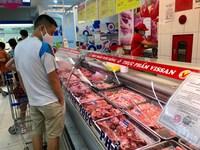 Sẵn sàng phương án cung ứng thịt cho TPHCM
