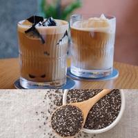 Cà phê sữa sương sáo, hạt chia cho buổi sáng hứng khởi