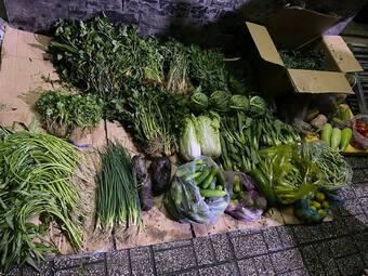 TPHCM: Chủ nhà mở 'chợ rau 0 đồng' cho người thuê trọ