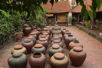 Đặc sản tương nếp ở ngôi làng cổ ngoại thành Hà Nội