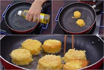 Hướng dẫn cách làm đậu hũ trứng chiên xù thơm ngon đơn giản tại nhà