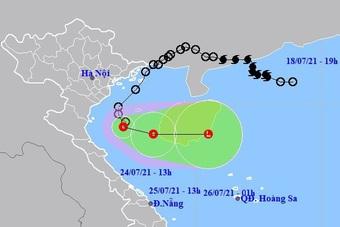 Áp thấp nhiệt đới đi ra ngoài, nhiều nơi trên đất liền vẫn mưa rất to