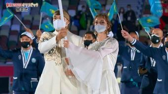 """Nhan sắc Kazakhstan được mệnh danh là """"công chúa Olympic"""""""