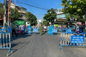 Tạm đóng cửa tất cả các chợ truyền thống ở TP Nha Trang từ 0h ngày 26/7