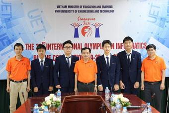 Học sinh Việt Nam giành 4 huy chương bạc Olympic tin học quốc tế