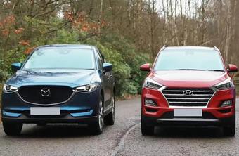 Xe gầm cao dưới một tỷ đồng, chọn Mazda CX-5, Tucson hay Corolla Cross?