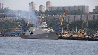 Hai chiến hạm Trần Hưng Đạo và Quang Trung đến Nga dự lễ duyệt binh