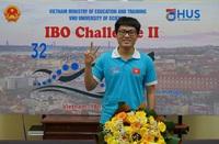 Cần Thơ thưởng nóng nam sinh đoạt Huy chương vàng Olympic Sinh học quốc tế