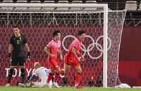 Kết quả bóng đá nam Olympic Tokyo 2020: Hàn Quốc đè bẹp Romania