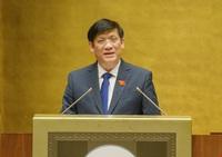 Bộ trưởng Y tế: Đẩy nhanh tiến độ chiến dịch tiêm vắc xin phòng Covid-19