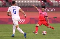 Olympic Hàn Quốc thắng đậm Romania, sống lại cơ hội vượt qua vòng bảng
