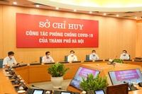 Bí thư Hà Nội yêu cầu Bộ Tư lệnh Thủ đô phun khử khuẩn toàn thành phố