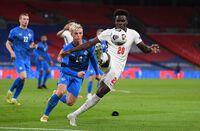 Thắng Iceland, HLV ĐT Anh nói thẳng về màn trình diễn của Bukayo Saka