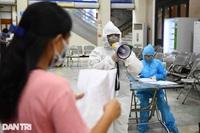 Hà Nội: Thêm 7 ca dương tính SARS-CoV-2, tìm người đi taxi liên quan F0