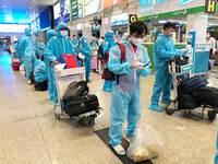 Bình Định thông báo khẩn tìm người trên chuyến bay có 4 ca mắc COVID-19