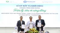 """VCF cùng Nutricare ký kết và khởi động chương trình """"Triệu ly sữa vì cộng đồng"""""""