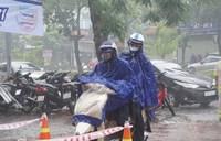 Tâm áp thấp nhiệt đới cách bờ biển Thanh Hóa 130km, sức gió giật cấp 8