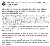 Xót xa cảnh NS Kim Phượng vừa qua đời vì Covid-19: Gia đình nhận trước tro cốt, tang lễ phải tạm hoãn do dịch