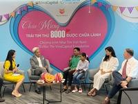 VCF hoàn tất ca phẫu thuật tim thứ 8000 cho trẻ em Việt Nam