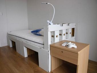"""Đòn quyết định để cấm """"chuyện ấy"""" ở Olympic: Giường làm bằng giấy?"""