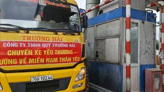 Bức xúc vì chở hàng vào hỗ trợ TPHCM, khi về trạm thu phí buộc phải mua vé