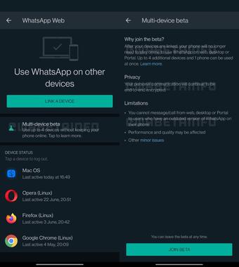 Khả năng hỗ trợ đa thiết bị của WhatsApp đã sẵn sàng