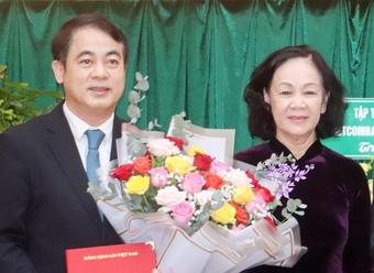 Chủ tịch HĐQT Vietcombank làm Bí thư Tỉnh ủy Hậu Giang
