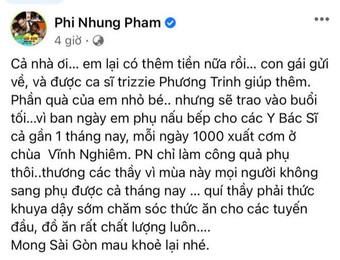 """Tự hào khoe được con gái ở Mỹ gửi tiền về làm từ thiện, Phi Nhung bị antifan miệt thị là """"con lai"""" liền đáp trả căng luôn!"""