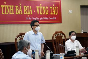 Bà Rịa - Vũng Tàu phải giữ ''vùng xanh'' để hỗ trợ TP.HCM
