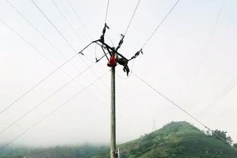 Lào Cai: Một công nhân bị điện giật tử vong trên cột điện 35kV