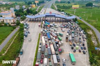 """Lo """"vỡ trận"""" giao thông Hà Nội, Tổng Cục đường bộ công bố phân luồng từ xa"""