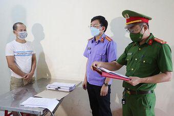 Khởi tố vụ khai thác đá trắng quy mô lớn ở Nghệ An