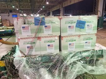 3 triệu liều vắc xin Moderna về tới Việt Nam, một nửa đã chuyển đến TP.HCM