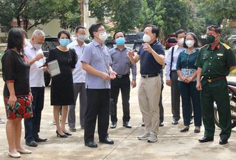 Bí thư Tỉnh ủy Đắk Lắk kiểm tra Bệnh viện Dã chiến số 1