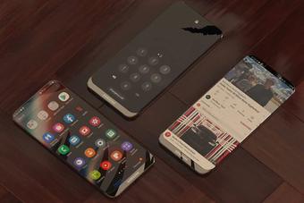 Đã mắt với ý tưởng điện thoại trong suốt của Samsung
