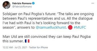 Thua trận, Solsa lên tiếng xác nhận tương lai Pogba