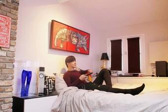 Penthouse siêu sang của Nathan Lee tại trung tâm Paris, xịn mịn từng góc, nhìn sơ đã thấy khủng