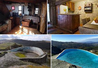Ngôi nhà nằm trong tảng đá độc nhất vô nhị ở Bồ Đào Nha