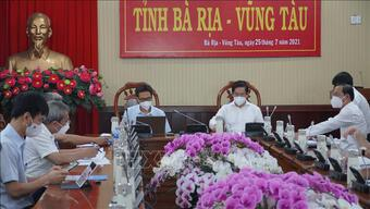 Phó Thủ tướng Vũ Đức Đam: Bà Rịa-Vũng Tàu nhanh chóng dập dịch để trở lại ''vùng xanh''