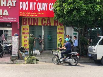 Hà Nội: 291 người dân và 5 cơ sở kinh doanh bị phạt gần 700 triệu đồng sau hơn 1 ngày giãn cách xã hội