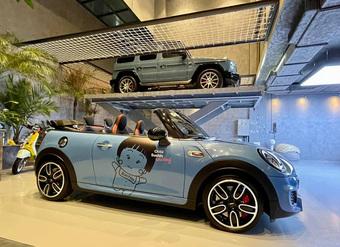 Nguyễn Quốc Cường có 1 chiếc garage siêu xế cực khủng cả chục tỷ, ai ngờ giờ biến thành khu... mua vui cho ái nữ Suchin