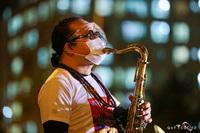 NS Trần Mạnh Tuấn biểu diễn saxophone trong bệnh viện dã chiến lay động mạnh: Đây là sân khấu đặc biệt nhất cuộc đời tôi