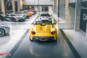 Siêu xe 10 năm tuổi Aston Martin V12 Zagato được tái sản xuất