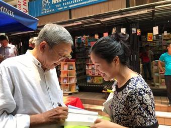 Anh Hai Cù Nèo Lê Văn Nghĩa, ''người bán nụ cười'' ra đi để lại nước mắt...