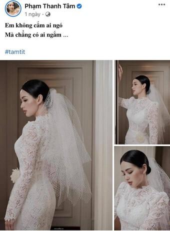 Tâm Tít bất ngờ đăng ảnh cưới sau 7 năm giấu kín