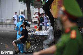 Hà Nội: Thêm 19 ca dương tính SARS-CoV-2 mới tại 9 quận, huyện