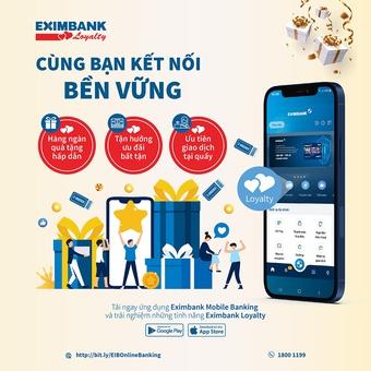 Eximbank chăm sóc khách hàng thân thiết